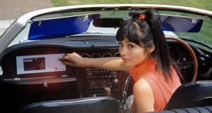 若林映子在《雷霆谷You Only Live Twice》(1967) 飾演明子。