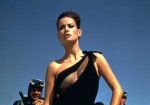 Claudine Auger在《霹靂彈Thunderball》(1965)飾演Domino。
