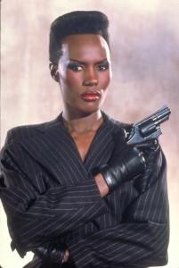 Grace Jones在《雷霆殺機A View To a Kill》(1985)飾演May Day。