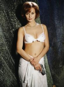 Izabella Scorupco在《黃金眼GoldenEye》(1995)飾演Natalya Simonova。