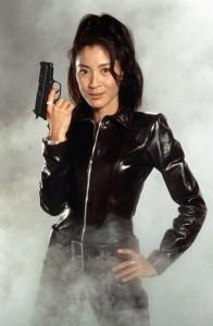 楊紫瓊在《明日帝國Tomorrow Never Dies》(1997)飾演林慧。