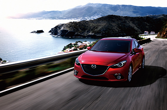 去年7月Mazda在台成立自營分公司,帶動台灣車市的新一波骨牌效應。圖中的Mazda 3是新公司成立後推出的第一輛進口新車。