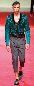 Dolce GabbanaMenswear Spring Summer 2015 Milan Fashion Week June 2014