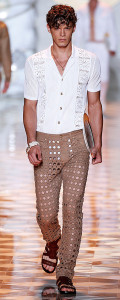 VersaceMenswear Spring Summer 2015 Milan Fashion Week June 2014