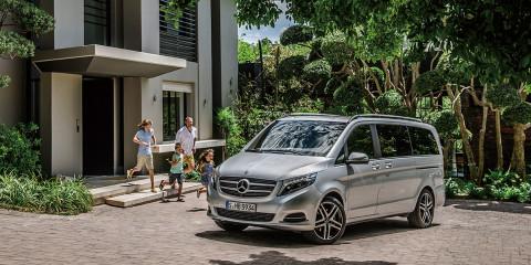 Die neue V-Klasse – AVANTGARDE, V 250 BlueTEC, Exterieur, brilliantsilber metallic The new V-Class – AVANTGARDE, V 250 BlueTEC, Exterior, brilliant silver metallic