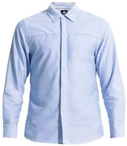 創新經典牛津襯衫,高品質布料結合功能性與精緻度,讓你在都會生活中感受到品味與舒適,更能在職場中展現出專業的工作態度。 Stealth Shirt_$2,600 by Outerboro