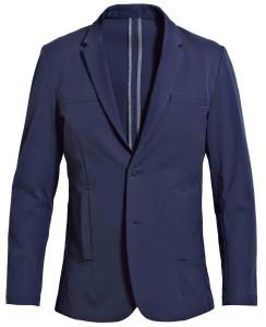 美軍戰機外型融入設計,選用超酷的機能型彈性布料(Verflex Cotton),加上防潑水技術,穿上它讓你自信無限延伸。 VerFlex Cotton Blazer_$12,000 by Outerboro