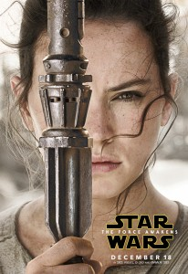 由Daisy Ridley飾演的Rey。