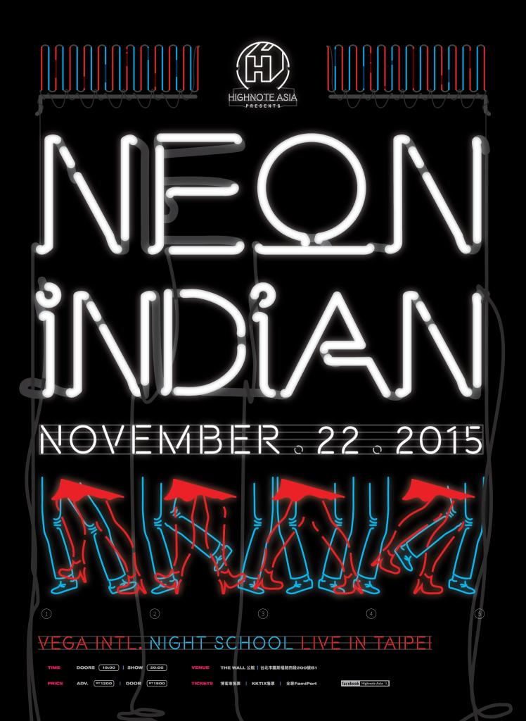 Neon Indian Taipei Poster