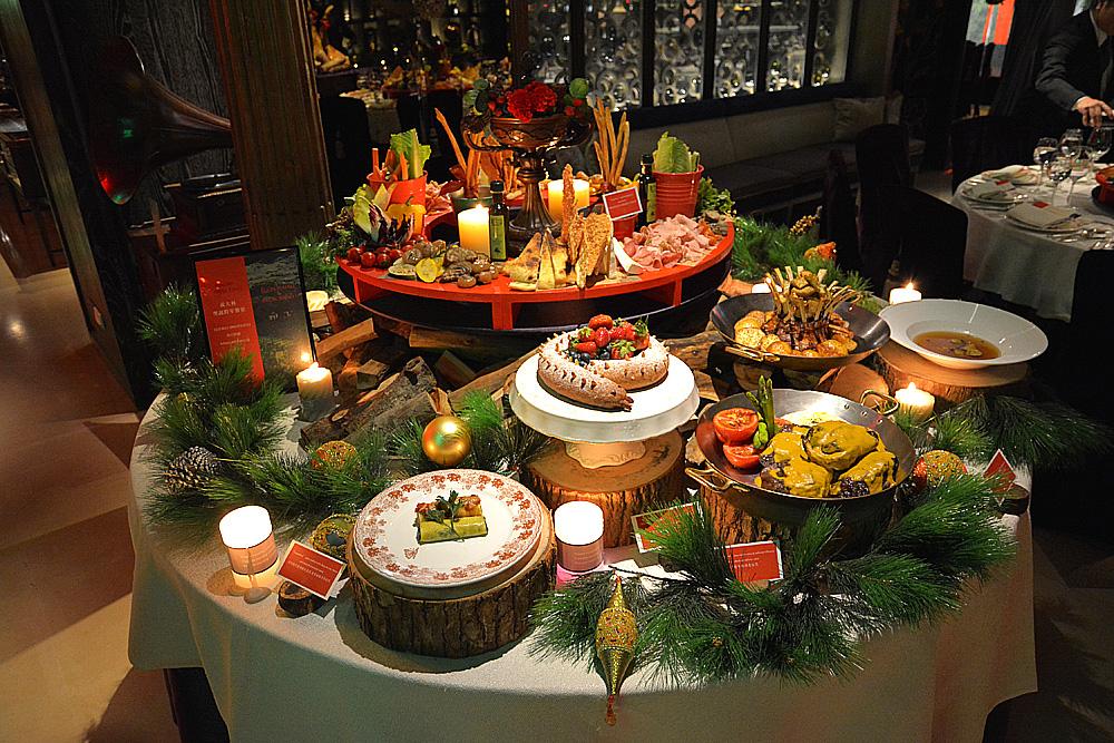 君品酒店發稿照-義大利聖誕跨年饗宴