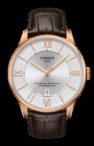 圖1. 天梭杜魯爾系列機械動力80男款腕錶 NT$27,100