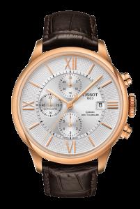 圖2. 天梭杜魯爾系列自動計時碼錶 NT$34,800
