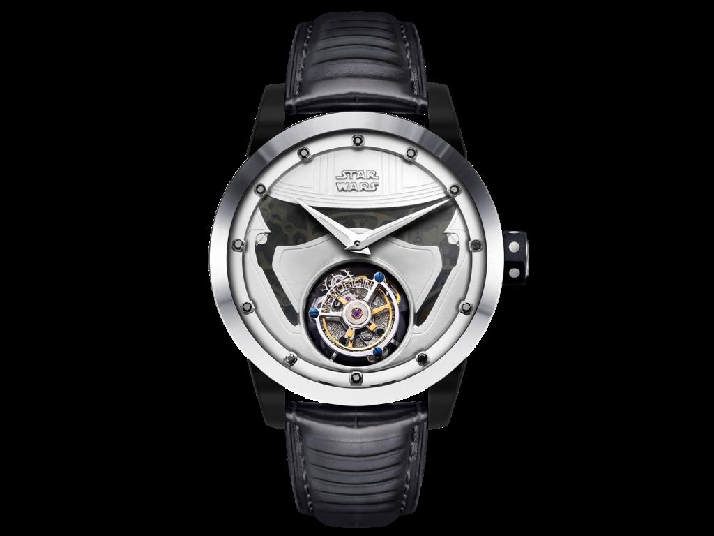 萬希泉星際大戰系列Captain Phasma陀飛輪腕錶,建議售價:NT$179,800
