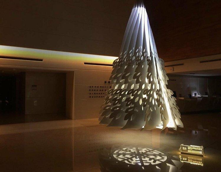 2015華碩聖誕樹(ASUS提供)