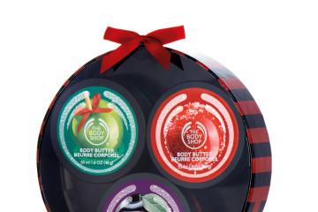 繽紛迷你滋養霜原裝禮盒_$980,內含3種(紫梅、青蘋果、蔓越莓)身體滋養霜50ml。
