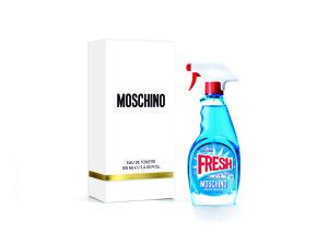 4. MOSCHINO小清新淡香水盒身包裝優雅摩登,白色外盒精選優質素材打造簡約質感,金色細節是對時尚工藝的致意。