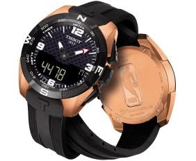 圖2. 天梭表T-Touch Expert Solar NBA特別款太陽能腕錶,NT$ 36200