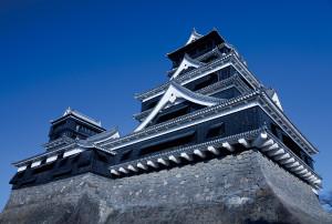 豪氣雄偉的熊本城,為日本三大名城之一,別名銀杏城。