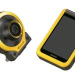 讓相機從控制器脫離,變得更先進、自由度更大,Casio EX-FR100是個有趣的想像。既然鎖定為戶外活動用相機,強固性能就值得提一提了。可提供 IPX8/IPX6 的防水性能的相機,攝氏-5度的耐低溫以及1.7公尺高度的墜落防護,讓使用者也以帶它上山下海沒有後顧之憂,包括自拍桿、潛水盒及環狀閃燈等多元配件,可以讓相機的應用更富想像力。 Casio EX-FR100_$14,990。