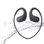 戶外聽音樂,有防水能力的藍牙耳機足以負擔,但如果是游泳聽音樂就比較不容易了。Sony數位運動隨身聽NW-WS413就想到這個需求,做出IPX6/8防水等級結構,能有效防止粉塵進入,搭配專為水中聆聽設計的防水薄膜耳塞,你就可以在水中聽音樂了!機身左右兩側搭載特殊設計的麥克風,可收錄分析周遭的環境噪音,運用獨家運算處理系統,轉換為自然低干擾的環境音,讓運動更加自在安全。 Sony NW-WS413_$2,990。