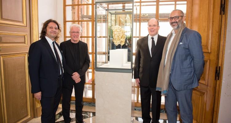 Buste Barry XBALL dans la galerie des Glaces