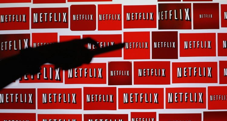 The Netflix logo is shown in this illustration photograph in Encinitas, California in this October 14, 2014 file photo. Streaming video service Netflix Inc said it will complete its expansion into 200 countries within two years, faster than expected, as the company builds its presence overseas while growth in the United States slows.    REUTERS/Mike Blake/Files   (UNITED STATES - Tags: ENTERTAINMENT MEDIA BUSINESS LOGO)