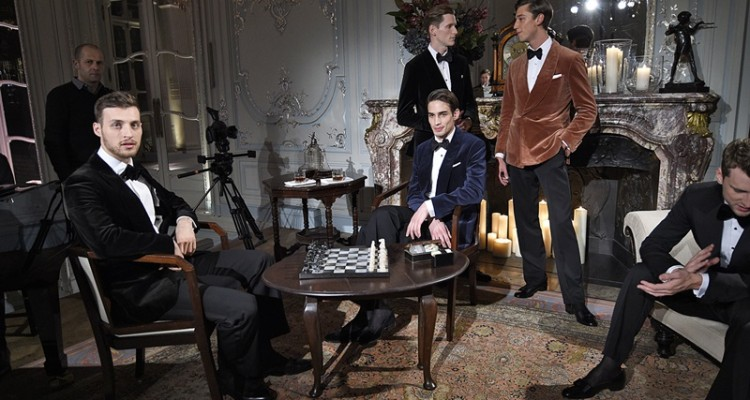 Dunhill London Menswear Fall Winter 2016 January 2016