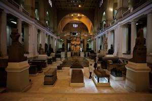 館藏千年歷史文物真跡的開羅博物館。