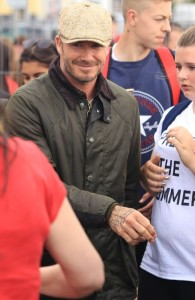 Barbour People_David Beckham