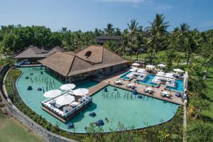 Club Med今年在峇里島上首創分區度假概念,區分出適合幼兒孩童的「家庭區」與適合大人家長的「靜區」。