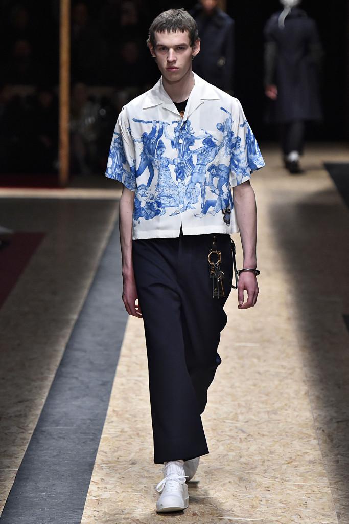 Prada Milan Menswear Fall Winter 2016 January 2016