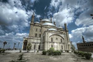 位於碉堡內的穆罕默德阿里清真寺,是開羅境內最著名的清真寺。