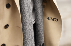 The Monogrammed Burberry Heritage Trench Coat_002
