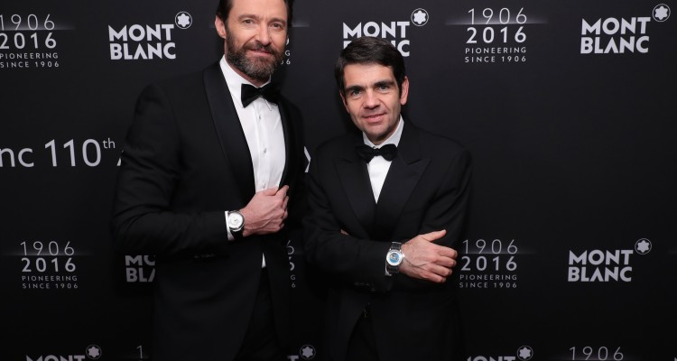 attends the Montblanc 110 Year Anniversary Gala Dinner on April 5, 2016 in New York City.
