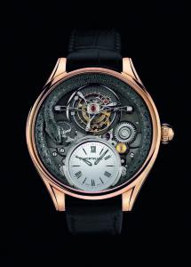 115934 萬寶龍Villeret系列雙圓筒擺輪游絲陀飛輪110周年紀念腕錶限量3,全球限量三只,NT$9100000。 (2)