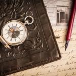 懷錶介紹 H. Moser & Cie. 懷錶 (Savonette),附上鏈鑰匙,錨型擒縱裝置,銀製錶殼配上扭索狀雕刻裝飾,編號36343