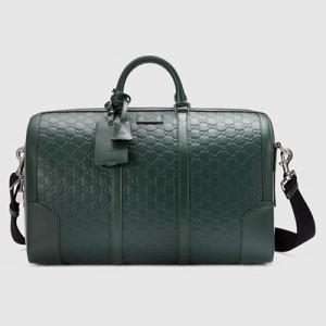 Gucci Signature 皮革壓紋旅行袋 NT$ 96100