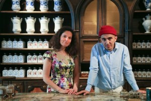 BULY1803創辦人夫婦Ramdane Touhami 與 Victoire de Taillac (2)