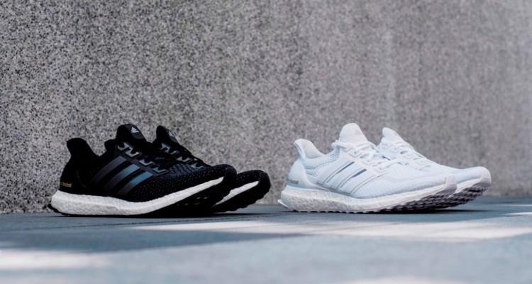 1. adidas Ultra Boost經典百搭全新黑白色系熱潮再現,7月30日同步推出男女鞋款,售價NT$5,690