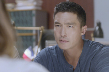 """""""The Lonely Heart"""" – The International Response Team heads to Paris to search for an UnSub targeting Americans who live there, on CRIMINAL MINDS: BEYOND BORDERS, Wednesday, April 6 (10:00-11:00 PM, ET/PT) on the CBS Television Network. Pictured: Daniel Henney as Matt Simmons.  Photo: CBS ©2015 CBS Broadcasting, Inc. All Rights Reserved"""