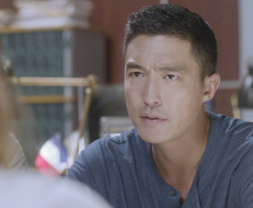 """The Lonely Heart"" – The International Response Team heads to Paris to search for an UnSub targeting Americans who live there, on CRIMINAL MINDS: BEYOND BORDERS, Wednesday, April 6 (10:00-11:00 PM, ET/PT) on the CBS Television Network. Pictured: Daniel Henney as Matt Simmons.  Photo: CBS ©2015 CBS Broadcasting, Inc. All Rights Reserved"