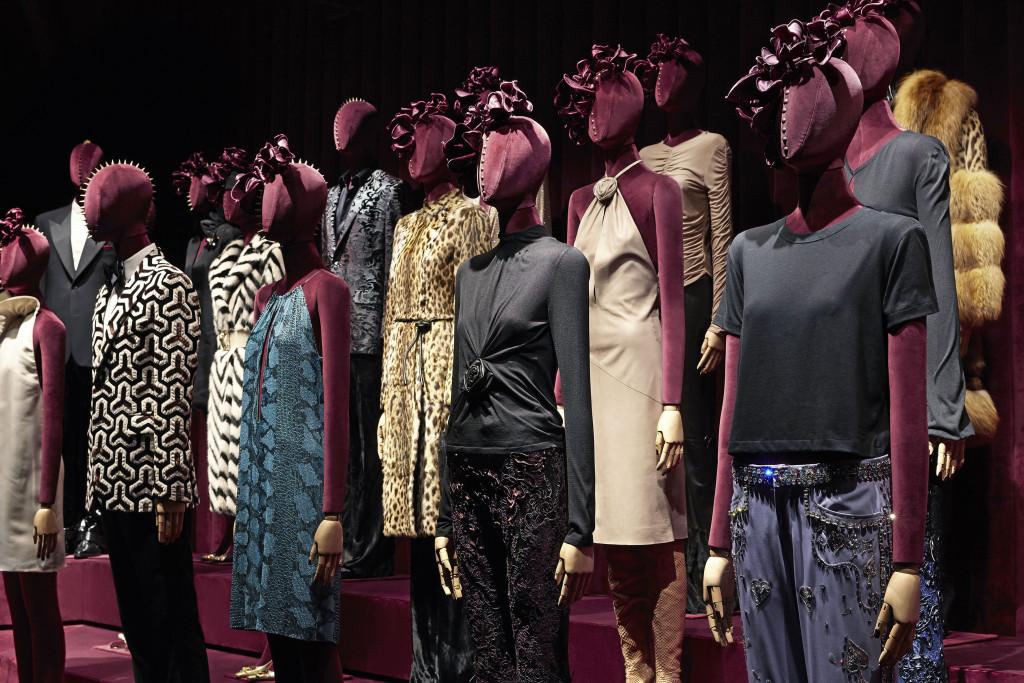 Gucci 佛羅倫斯博物館內 Tom Ford 展間_ 服裝展間 (4)