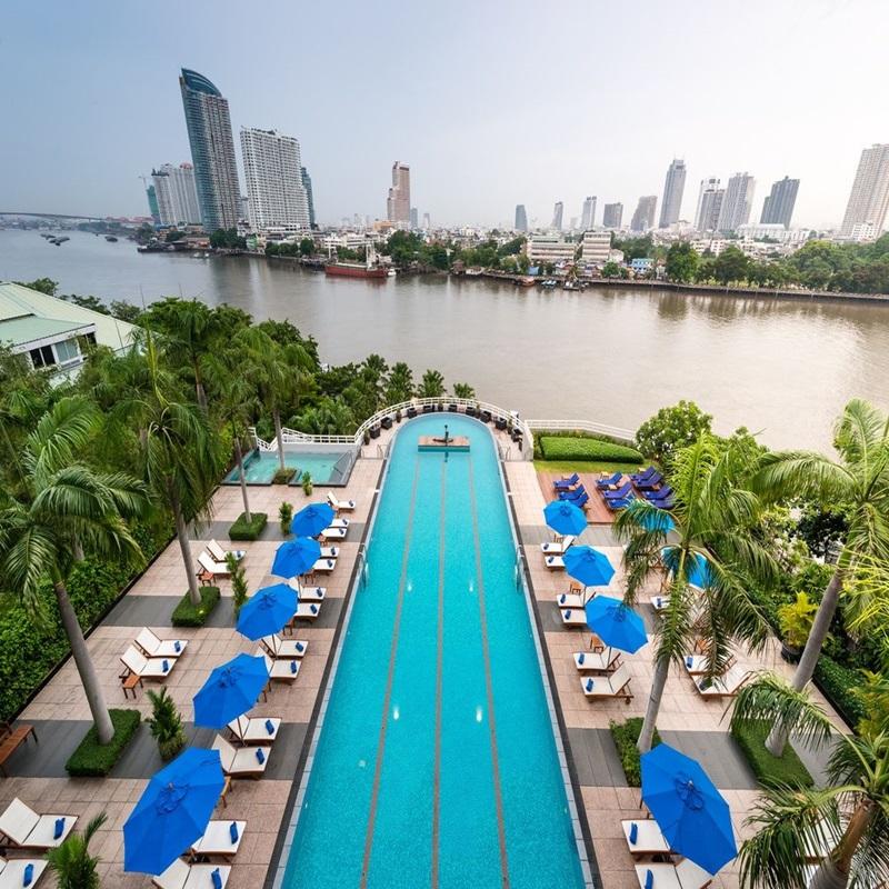 察殿曼谷河畔豪華酒店 (Chatrium Hotel Riverside Bangkok)