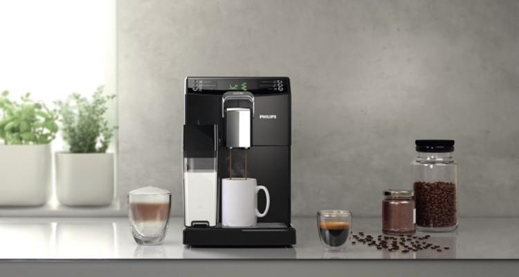 飛利浦All-in-1全自動義式咖啡機震撼上市!透過獨有的義式濾煮式隨心切換「Coffee-Switch」功能,數分鐘內隨心沖煮超過9種風味品飲,滿足三心二意的咖啡迷們!