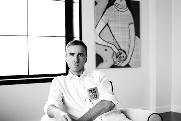 simons,raf-portrait-2016_ph_vanderperre, willy-black+white