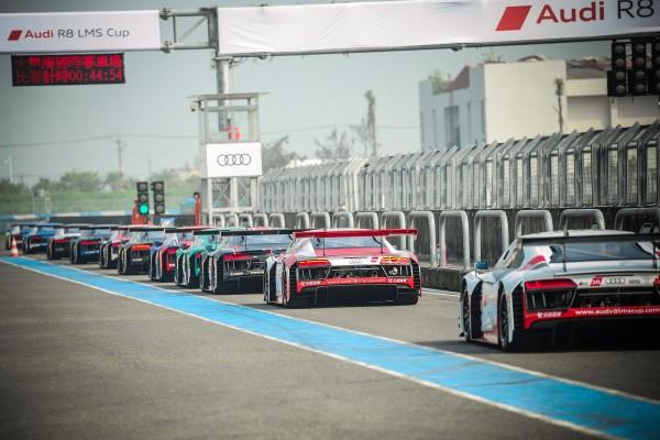 來自世界各地的15位選手和全新第二代Audi R8 LMS GT3賽車完成最終調校,為台灣站的賽車迷們上演連續兩回合的熱血競賽!