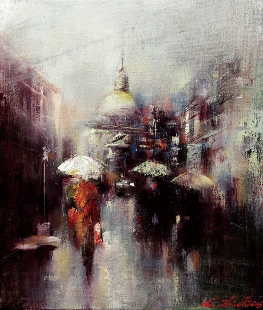 韋啟義《微雨街情》