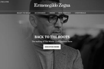 Ermenegildo Zegna 2017秋冬系列時裝秀數位計劃
