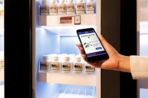 光ID辨識系統,只要使用智慧型手機掃過光源便能立即取得貨架上的商品資訊