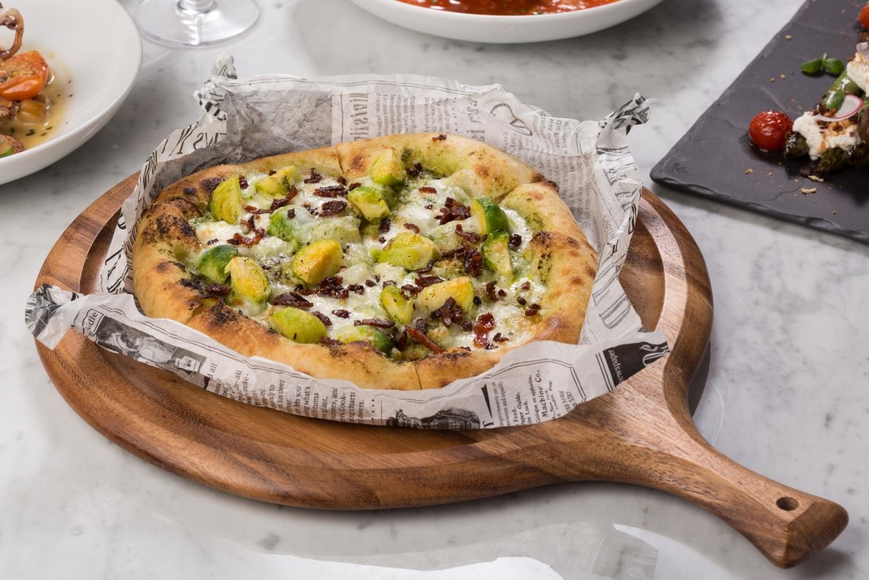 孢子甘藍披薩